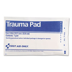 FAO5012 - First Aid Only™ Trauma Pad
