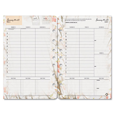 FDP35448 - FranklinCovey® Blooms® Dated Weekly/Monthly Planner Refill