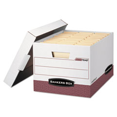 FEL07242 - Bankers Box® R-KIVE® Maximum Strength Storage Boxes