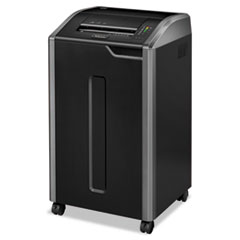 FEL38425 - Fellowes® Powershred® 425Ci Continuous-Duty Cross-Cut Shredder