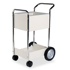FEL40924 - Fellowes® Steel Mail Cart