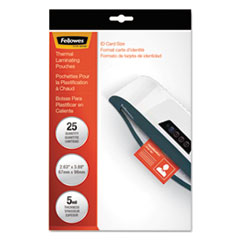 FEL52007 - Fellowes® Laminating Pouches
