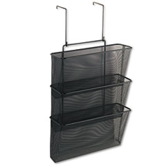 FEL75901 - Fellowes® Mesh Partition Additions™ Triple File Pocket