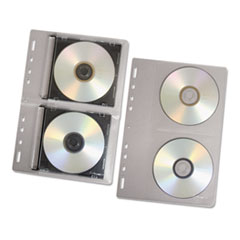 FEL95304 - Fellowes® Vinyl CD/DVD Protector Sheets for Three-Ring Binders