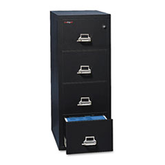 FIR41831CBL - FireKing® Four-Drawer Insulated Vertical File