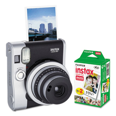 FUJ600016090 - Fujifilm Instax Mini 90 Neo Classic Camera Bundle