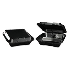 GNPSN203BK - Foam Hinged Carryout Containers