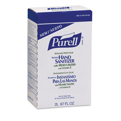 GOJ2237-04 - PURELL® Advanced With Aloe Instant Hand Sanitizer