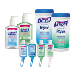 GOJ9120K1EC - PURELL® On the Go Hand Sanitizer Kit, 8 Pieces