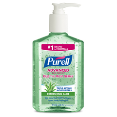 GOJ9674-12 - PURELL® Advanced With Aloe Instant Hand Sanitizer