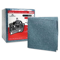 GPC292-23 - Brawny Industrial® Medium Duty All Purpose Airlaid Quarterfold Wipers