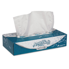 GPC485-60 - Angel Soft ps Ultra™ Premium Facial Tissue - Flat Box