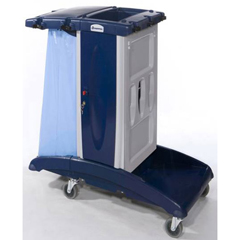 GPS301B - GeerpresModular Plastic Housekeeping Cart - 301B Base Unit