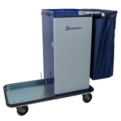 GPS3820 - GeerpresGenesis™ Powder Coated Housekeeping Cart