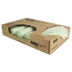 HERY6848YER01 - Heritage Bag® BioTuf Compostable Can Liners