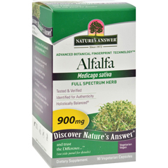 HGR0123489 - Nature's AnswerAlfalfa Leaf - 90 Ct