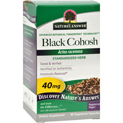 HGR0124271 - Nature's AnswerBlack Cohosh Root Extract - 60 Vegetarian Capsules