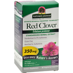 HGR0124610 - Nature's AnswerRed Clover Tops Extract - 60 Vegetarian Capsules