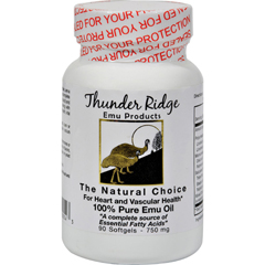 HGR0177154 - Thunder Ridge Emu Products100% Pure Emu Oil - 750 mg - 90 Softgels