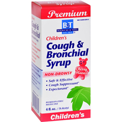 HGR0209825 - Boericke and TafelChildrens Cough and Bronchial Syrup - 4 fl oz