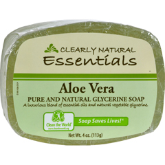 HGR0216481 - Clearly NaturalGlycerine Bar Soap Aloe Vera - 4 oz