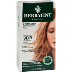 HGR0227033 - HerbatintHaircolor Kit Copperish Gold 9D - 1 Kit