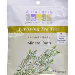 HGR0277640 - Aura CaciaAromatherapy Mineral Bath Tea Tree Harvest - 2.5 oz - Case of 6
