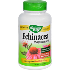 HGR0280701 - Nature's WayEchinacea Purpurea Herb - 180 Capsules