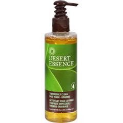 HGR0308148 - Desert EssenceThoroughly Clean Face Wash - Original - 8.5 fl oz