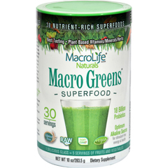 HGR0327874 - MacroLife NaturalsMacro Greens - 10 oz