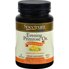 HGR0349159 - Spectrum EssentialsOrganic Evening Primrose Oil - 1300 mg - 90 Capsules