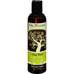 HGR0360701 - Dr. WoodsFacial Cleanser - Tea Tree - 8 oz