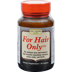 HGR0374165 - Only NaturalFor Hair Only - 50 Tablets