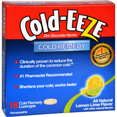 HGR0432799 - Cold-EEZECold Remedy Lozenges Lemon Lime - 18 Lozenges