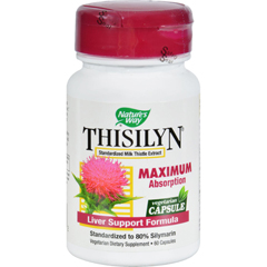HGR0488668 - Nature's WayThisilyn Standardized Milk Thistle Extract - 60 Capsules