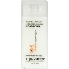 HGR0512871 - Giovanni Hair Care ProductsGiovanni 50:50 Balanced Conditioner Hydrating-Calming - 2 fl oz - Case of 12