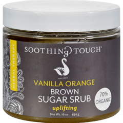HGR0516443 - Soothing TouchBrown Sugar Scrub - Vanilla Orange - 16 oz