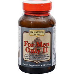 HGR0525816 - Only NaturalFor Men Only II - 60 Tablets