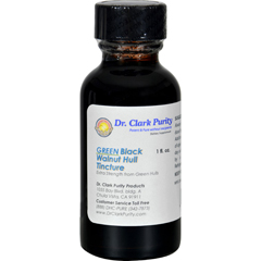 HGR0525881 - Dr. Clark's Purity ProductsGreen Black Walnut Hull Tincture - 1 oz