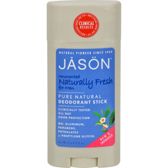 HGR0526822 - Jason Natural ProductsDeodorant Stick For Men Naturally Fresh - 2.5 oz