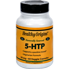 HGR0528117 - Healthy OriginsNatural 5-HTP - 50 mg - 60 Capsules