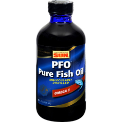 HGR0574590 - Health From The SeaHealth From the Sun PFO Pure Fish Oil - 715 mg - 8 fl oz