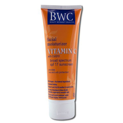 HGR0590836 - Beauty Without CrueltyFacial Moisturizer SPF 12 Sunscreen Vitamin C with CoQ10 - 4 fl oz