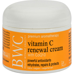 HGR0590992 - Beauty Without CrueltyRenewal Cream Vitamin C with CoQ10 - 2 oz