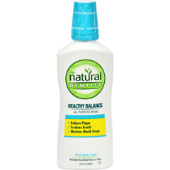 HGR0595843 - Natural DentistHealthy Balance All Purpose Rinse Peppermint Sage - 16 fl oz