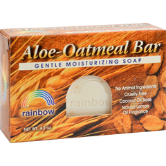 HGR0606707 - Rainbow ResearchBar Soap Aloe Oatmeal - 4 oz