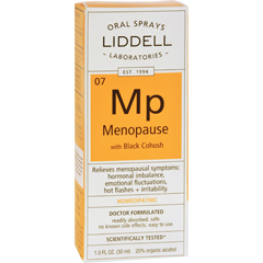 HGR0614628 - Liddell HomeopathicMenopause Spray - 1 fl oz
