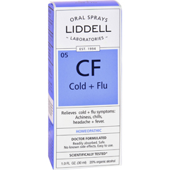 HGR0635557 - Liddell HomeopathicCold and Flu Spray - 1 fl oz