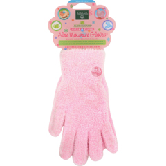 HGR0657221 - Earth TherapeuticsAloe Moisture Gloves Pink - 1 Pair