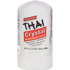 HGR0658237 - Thai Deodorant StoneThai Natural Crystal Deodorant Push-Up Stick - 2.125 oz